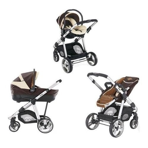 Passeggino Trio Brevi Ovo Car 340 marrone bronzo.jpg